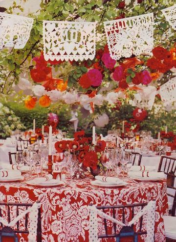 Decorating With Fiestaware Mexican Themed Wedding La Vita Bella Events